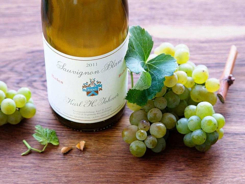 Herrlich fruchtig und mineralisch: Johners Sauvignon Blanc 2011    | Foto: Michael Wissing
