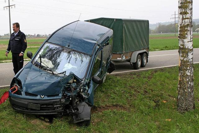 Frau bei Unfall verletzt