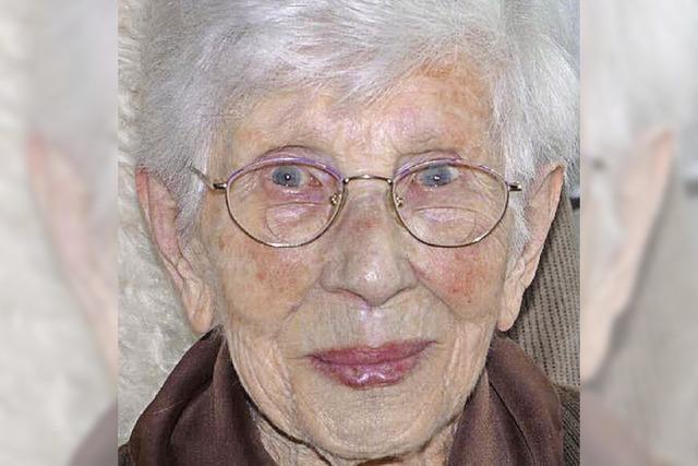 100 Jahre alt – Wiedersehen mit Olga Huber