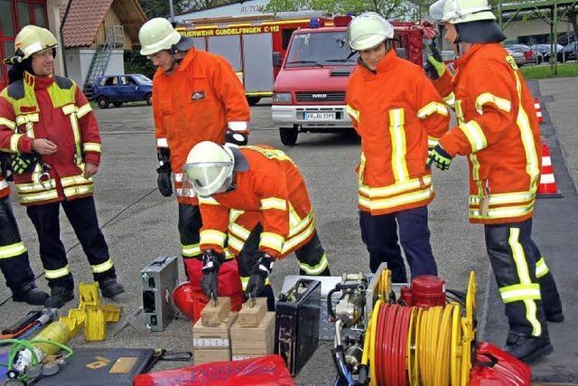 Für Einsätze ist der Feuerwehrnachwuchs ausgebildet