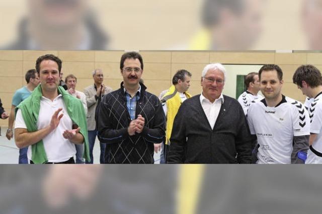 Schopfheims Handballer feiern den Aufstieg in die Landesliga