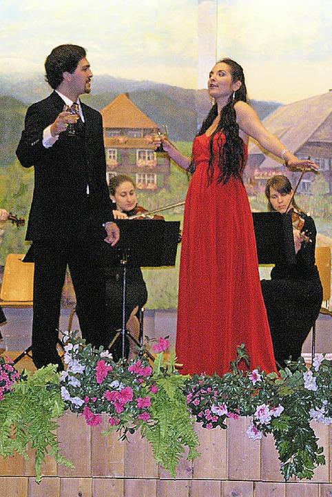 Sechs Musikstudenten der Musikhochschu...assisiches Musikfest in Menzenschwand.  | Foto: Margrit Matyscak