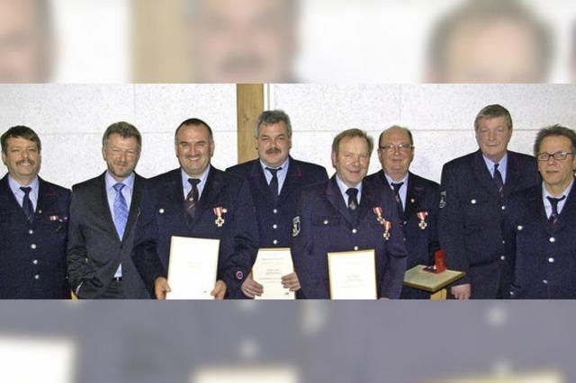 Das gemeinsame Feuerwehrkonzept ist fast druckreif