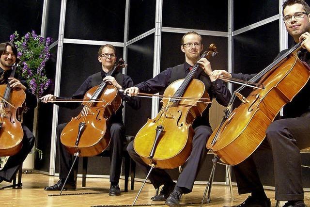 Große Musik mit sanften Bogenstrichen
