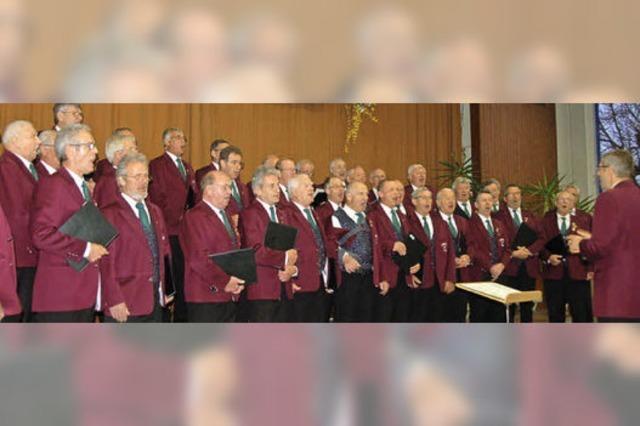 Klassischer Chorgesang und freche Lieder