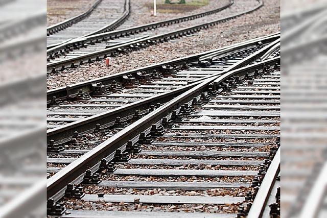 Bahn erneuert Gleise für 2,2 Millionen Euro im Bahnhof