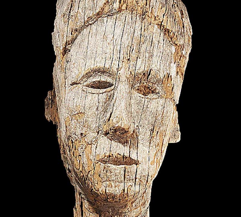 Maske des brasilianischen Stammes der Waura.     Foto: ZvG