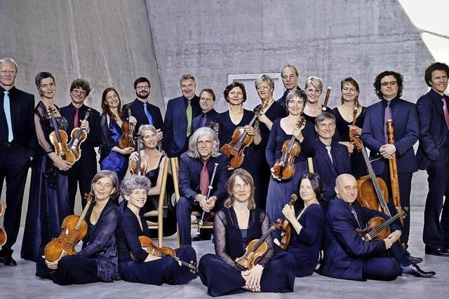 Freiburger Barockorchester spielt im Burghof Lörrach: Hin zu den Ursprüngen