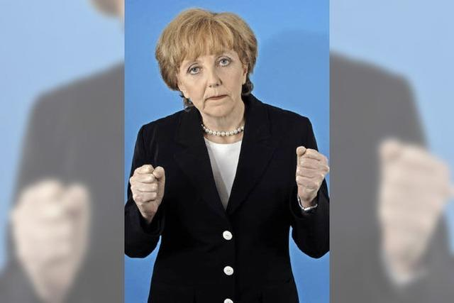 FREITAG: KABARETT: Merkel kommt