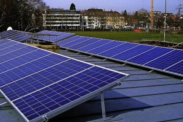 Strom vom Dach fürs Vereinsheim