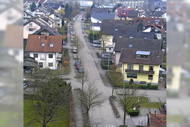 Die Goethestraße steht zur Runderneuerung an