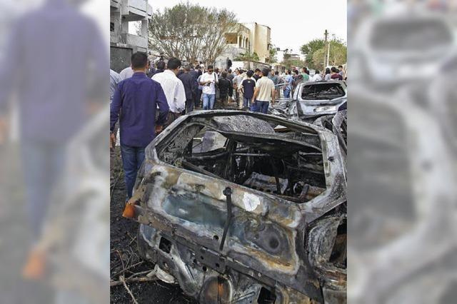 Bombe vor Botschaft in Libyen gezündet