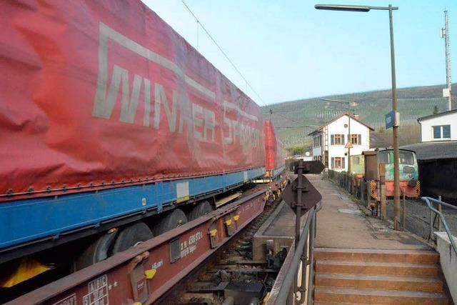 Fahren wieder mehr Güterzüge auf der Altstrecke?