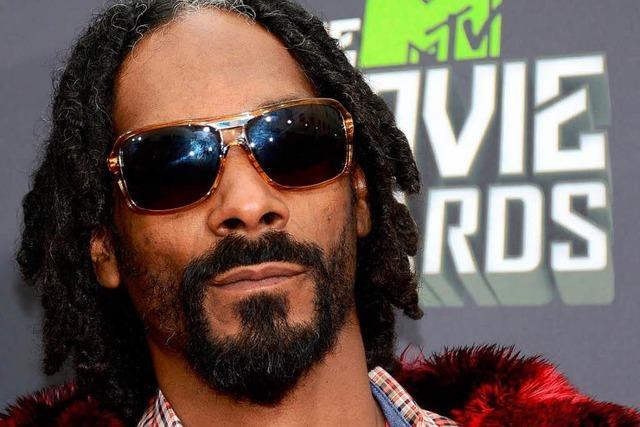 Snoop Lion tritt bei der Foire aux Vins in Colmar auf
