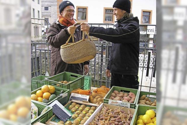 Wochenmarkt in St. Blasien