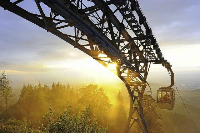 Hoch hinaus auf der Schauinslandbahn