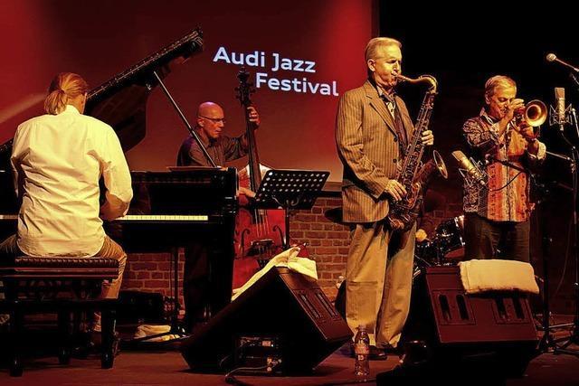 Dusko Goykovich und Scott Hamilton im Jazztone Lörrach