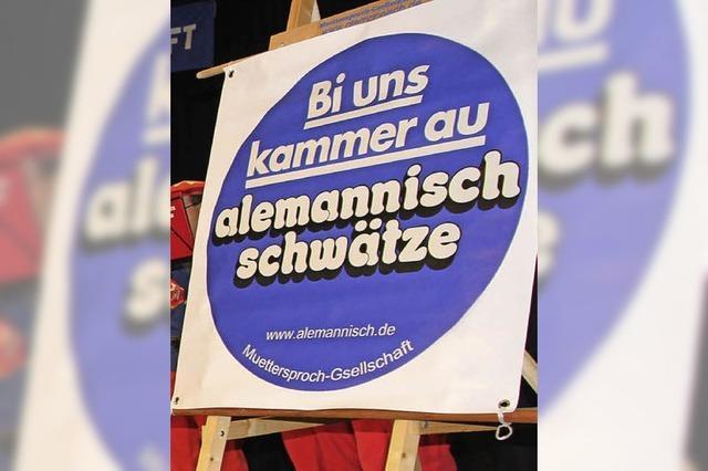 Muettersproch-Gsellschaft will für Mundart werben