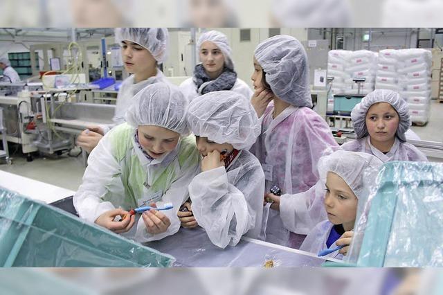 Kinder am Arbeitsplatz der Eltern
