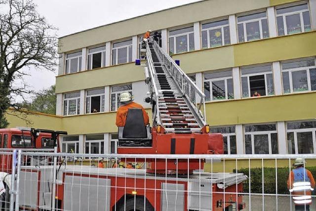 Brandalarm im KiZ fordert die Retter