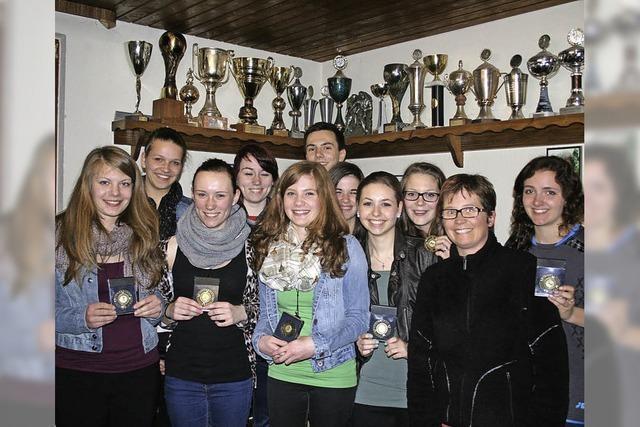 Handball-Mädels ganz oben