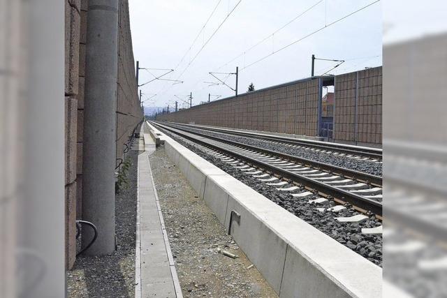 Im Sommer '14 hält kein Zug in Eimeldingen