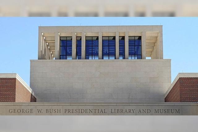 Bibliothek des früheren US-Präsidenten George W. Bush eingeweiht