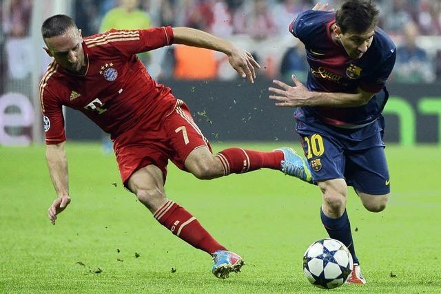 Der FC Bayern hat beim 4:0 dem FC Barcelona richtig weh getan