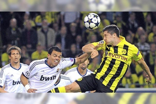 Dortmunds Lewandowski schlägt Real Madrid 4:1