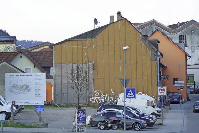 Stellplätze weichen Wohnungen