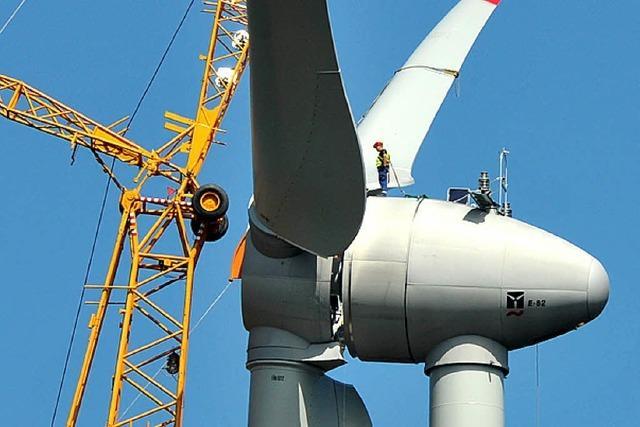 Kein vorläufiger Baustopp für neue Windräder