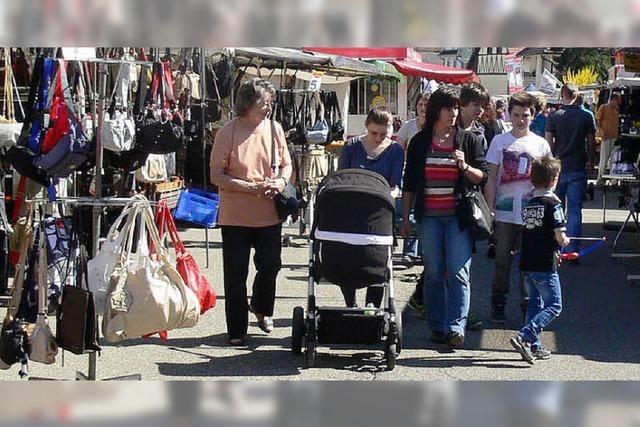 Frühjahrsmarkt mit Stammgästen