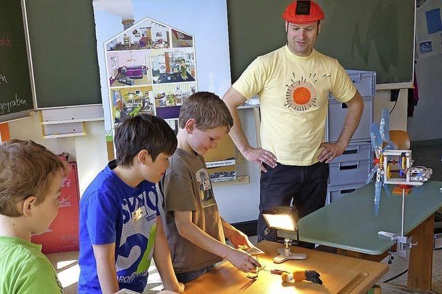 Strittmatter Schüler sind Energie-Dieben auf der Spur
