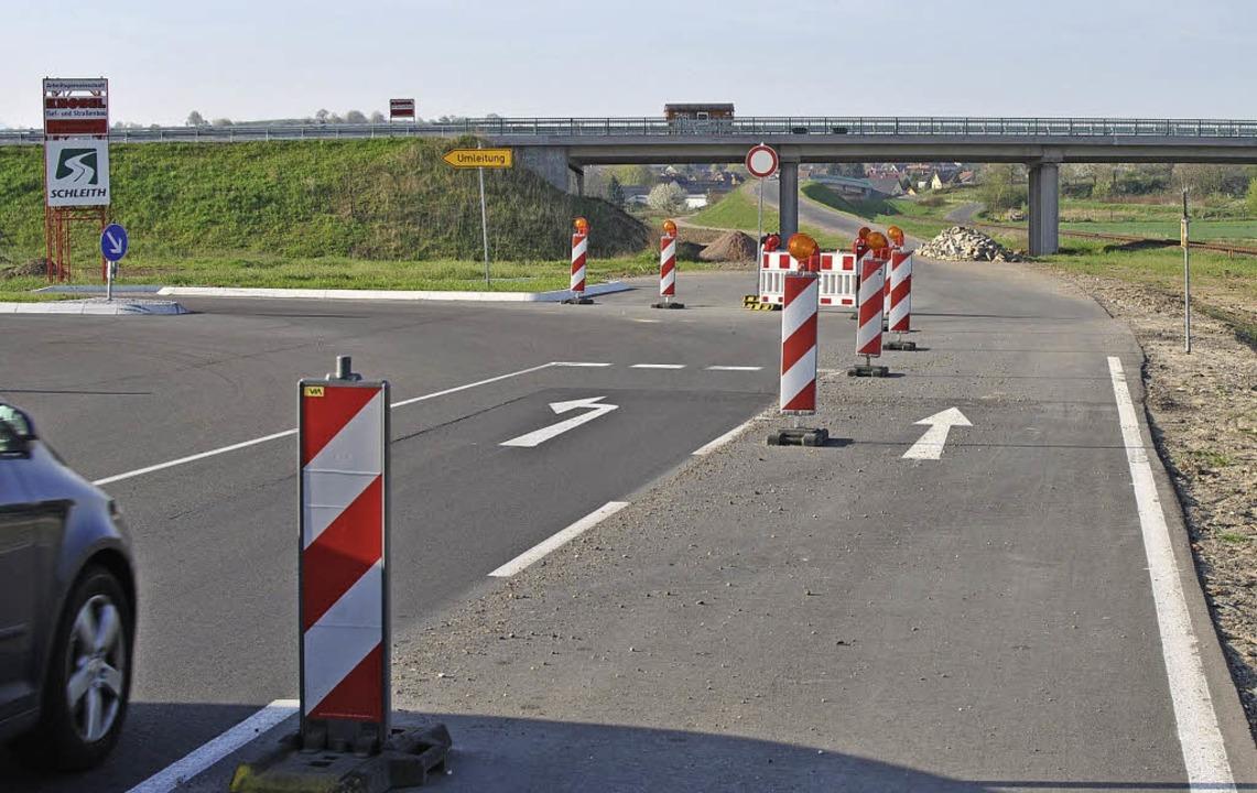 Bitte nach links – geradeaus ist...nn heißen: nach Gottenheim geradeaus.   | Foto: manfrEd frietsch