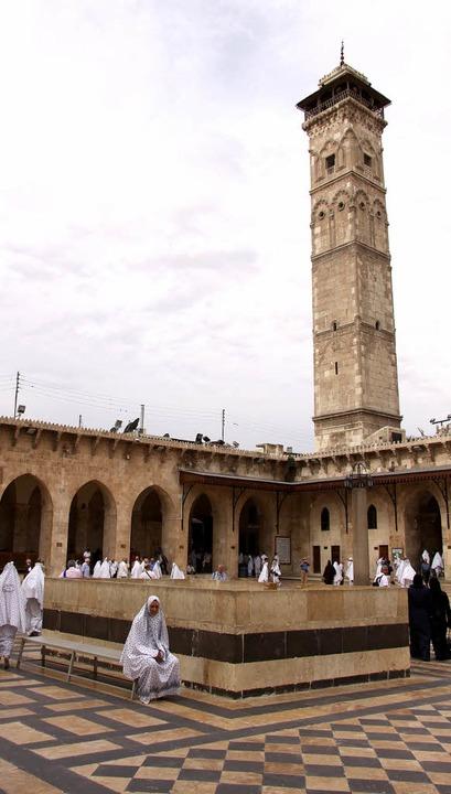 Omajjaden-Moschee vor ihrer Zerstörung (2010)   | Foto: DPA/AFP