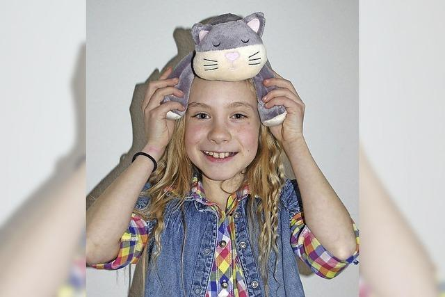 Die zehnjährige Tabea Hug hat bei