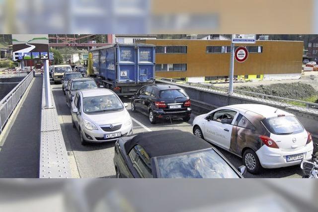 Geduldsprobe für die Autofahrer
