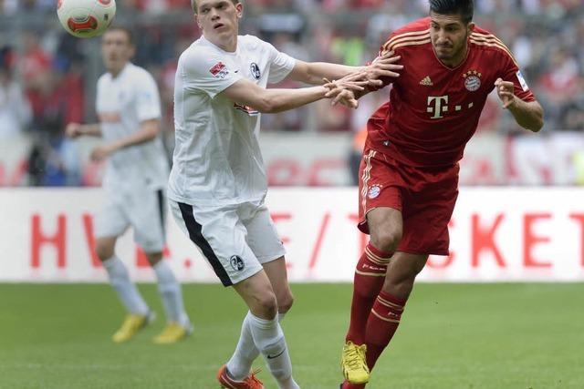 Der SC Freiburg verliert 0:1 in München