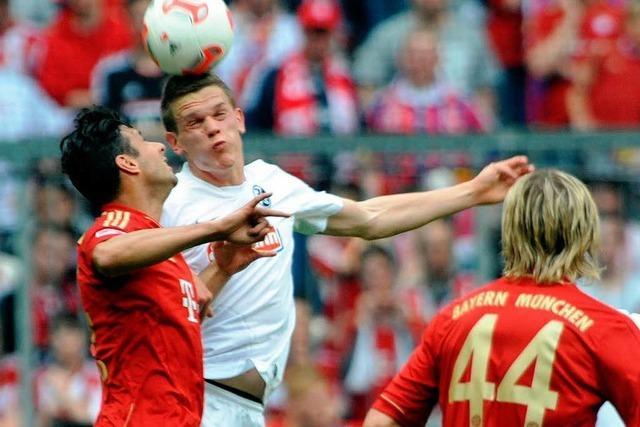 Keine Überraschung: Der SC Freiburg verliert 0:1 in München