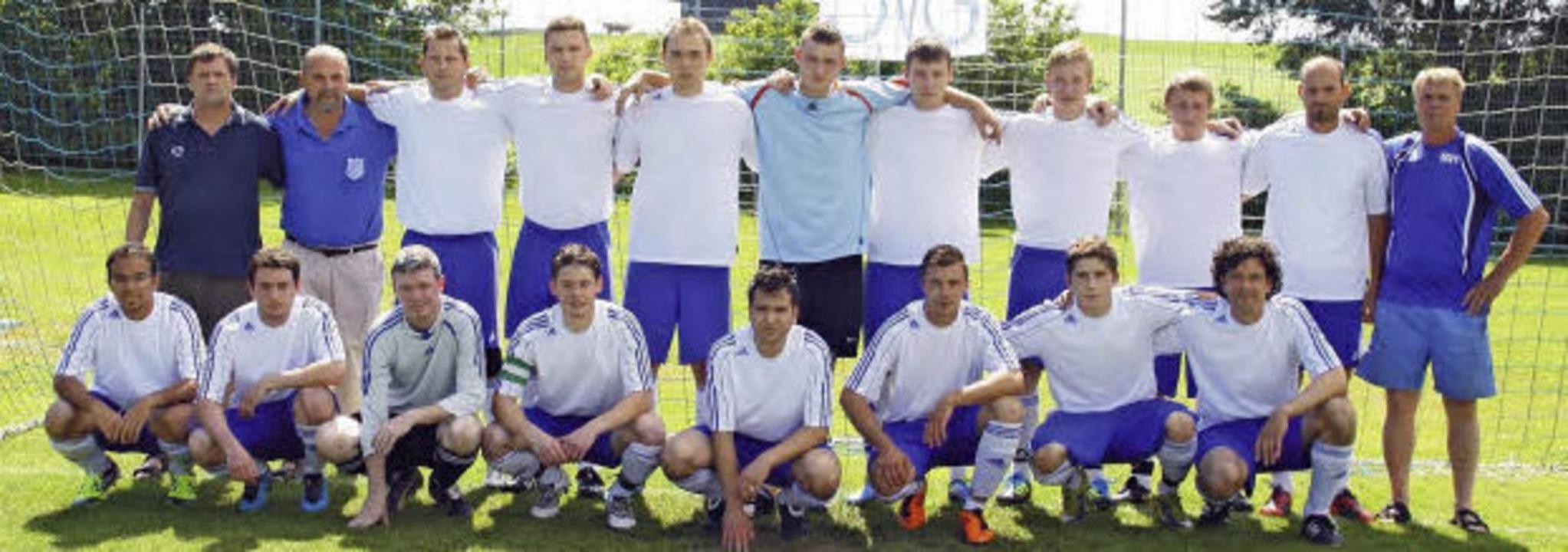 Die Mannschaft des Sportvereins Göschweiler   | Foto: Privat