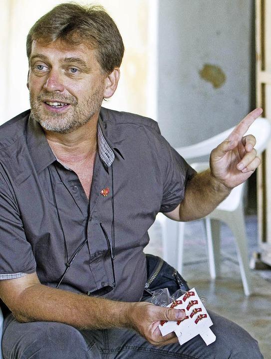 Mirko Novák ist Professor für vorderas...he Ärchaologie an der Universität Bern    Foto: PRivat