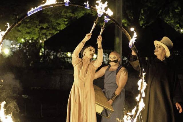 """""""Vaudeville! Open Air"""": Schauspieler als Schausteller"""
