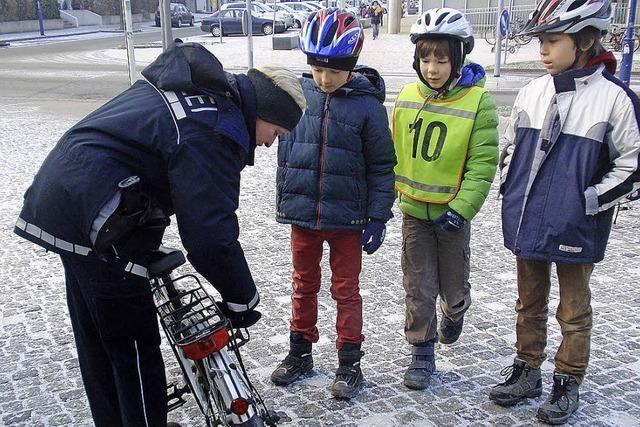Nicht alle Fahrräder haben den Check bestanden