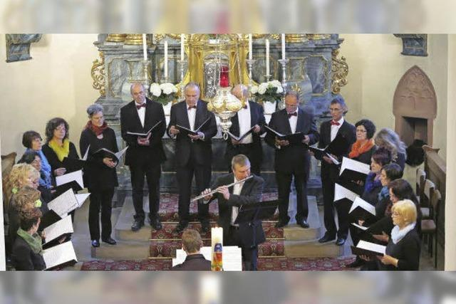 Flöte und Orgel als einfühlsame Begleiter