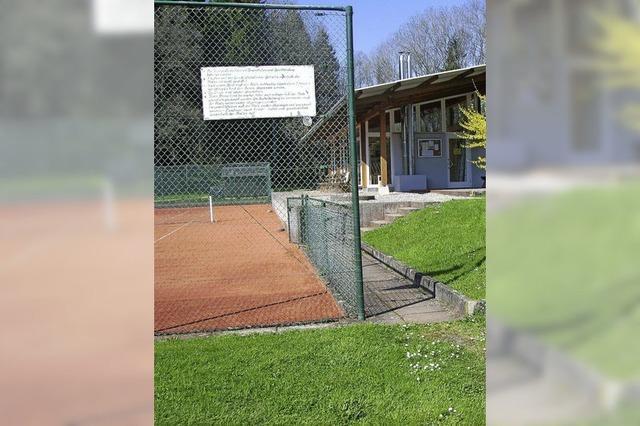 Tennissaison kann beginnen