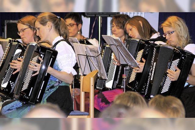 Harmonika-Jugend im Rampenlicht