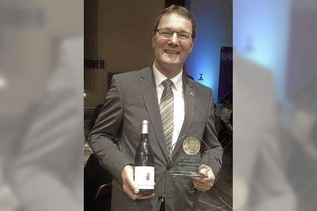 Fritz Deutschmann wird Ehrenbürger