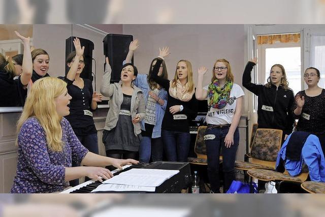Singen mit Hilfe von Profis