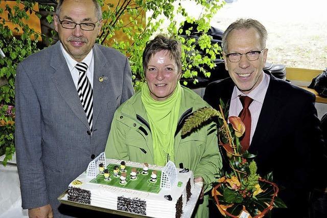 Kunstrasenplatz des FC Simonswald wurde nun auch offiziell eingeweiht