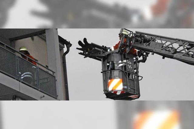 Feuerwehrübung: Die Probe gibt Sicherheit